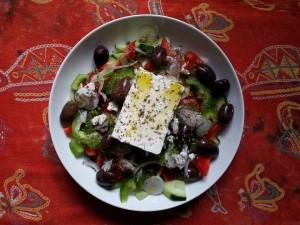 Home made Greek Salad